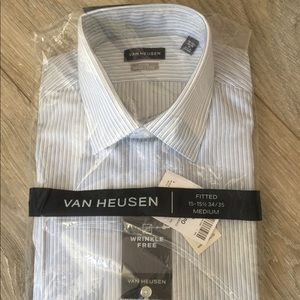 Van Heusen Dress Shirt Size 15 1/2. New with tags